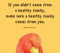 Did You come from a Healthy Family?